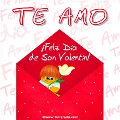 Te amo en San Valentín
