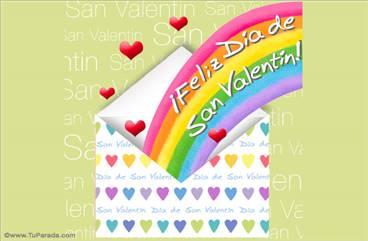 Sobre de San Valentín