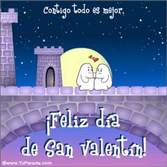 En el día de San Valentín...