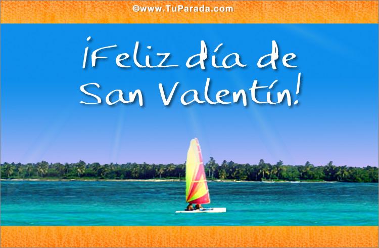 Tarjeta - Foto de San Valentín