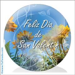 Saludo de San Valentín para todos.