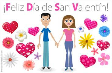 Ecard de San Valentín