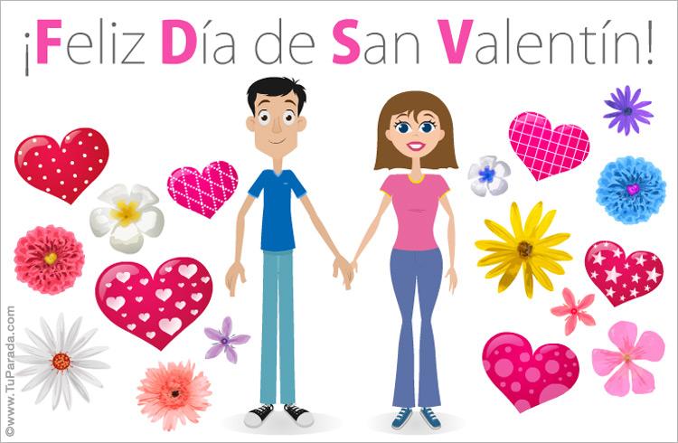 Ecard de san valent n san valent n tarjetas - Postales dia de san valentin ...