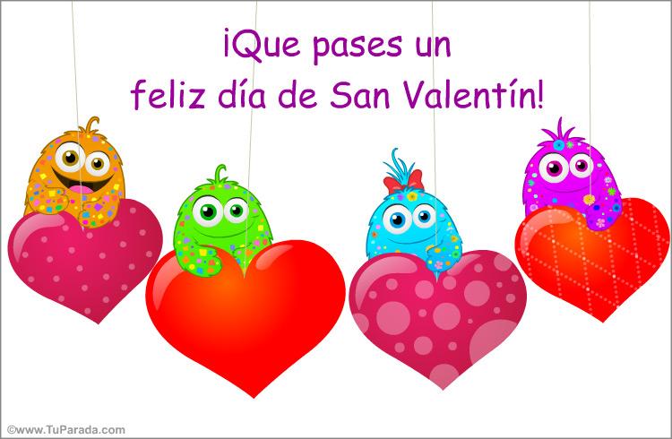 Tarjeta - Feliz día de San Valentín divertido