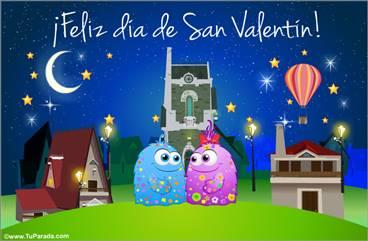 Mensaje especial de San Valentín