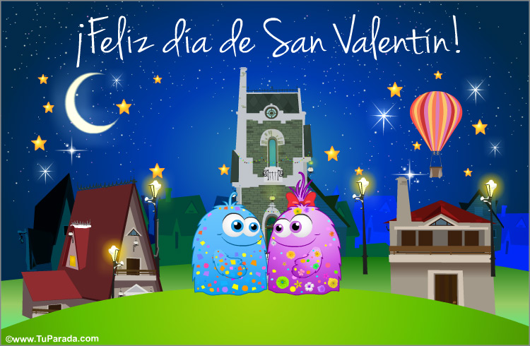 Tarjeta - Mensaje especial de San Valentín