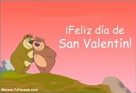 San Valentín con osos marrones
