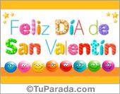 Tarjetas postales: Tarjeta de feliz día de San Valentín divertido