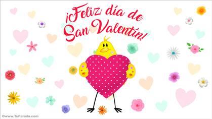 Tarjetas De San Valentín Postales Día De San Valentin Tarjeta San