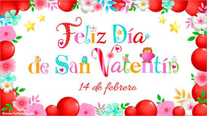 14 de febrero - Día de San Valentín