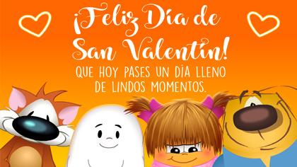 Tarjetas postales: Feliz día de San Valentín con afecto