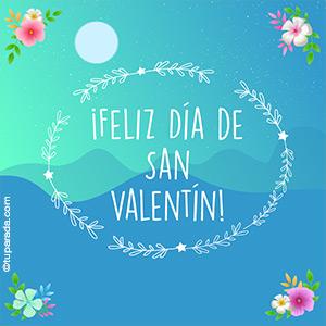 Tarjeta especial de San Valentín