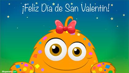 Postal de San Valentín para ti