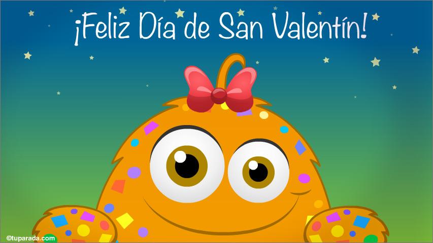 Tarjeta - Postal de San Valentín para ti