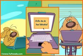 Saludo virtual