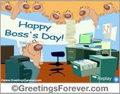 Ecards: Boss's day