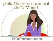 Feliz Día Internacional de la Mujer