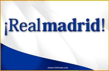 Tarjeta del Real Madrid