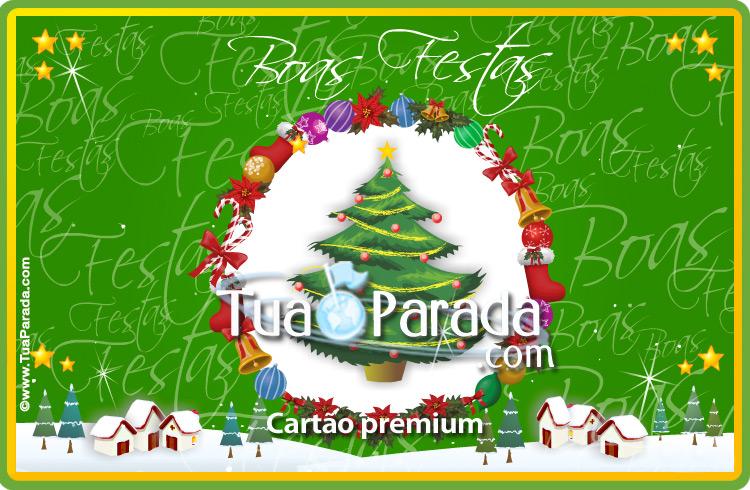Cartão - Cartão de Natal tradicional