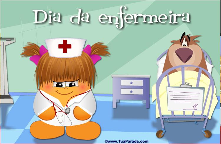 Cartão - Dia da enfermeira