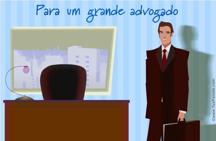 Cartão - Para um advogado