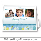 Easter printable card