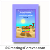 Printable card, love - For all devices