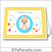 Felicidades por el bebé