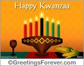Kwanzaa ecard