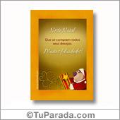 Cartão para imprimir: Muitas Felicidades - Todos os dispositivos