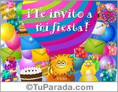 Invitación a fiesta