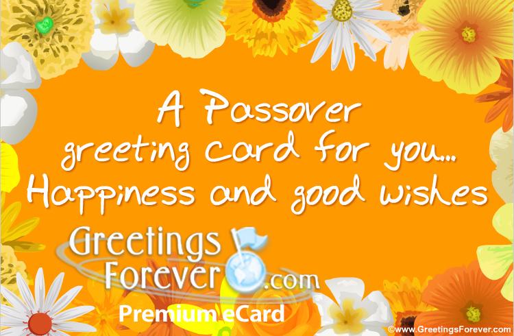 Ecard - Passover ecard
