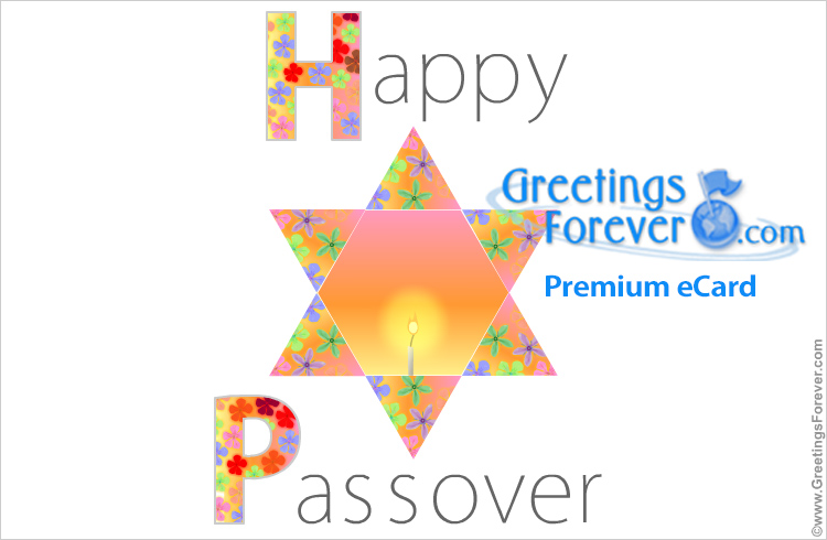 Ecard - Passover greeting card