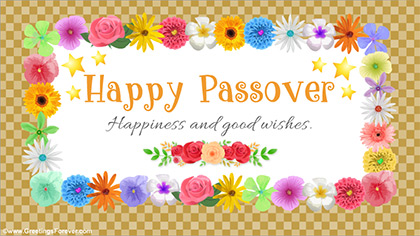Happy Passover and warm wishes