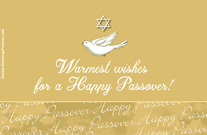 Wishes of a happy Passover