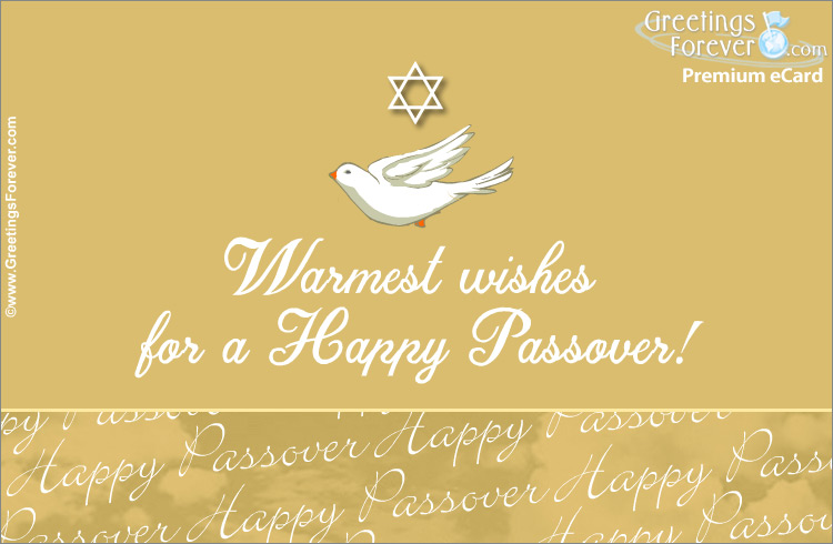 Ecard - Wishes of a happy Passover