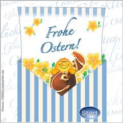 Überraschungs-Kuvert zu Ostern