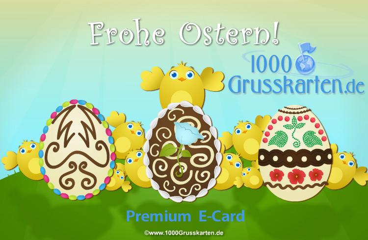 E-Card - Frohe Ostern E-Card