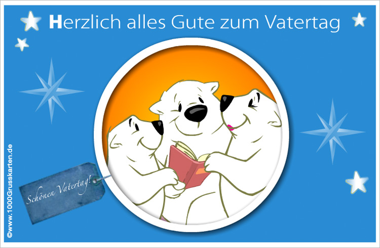 E-Card - Vatertag E-Card