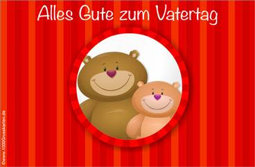 E-Cards: Vatertag