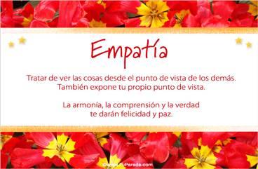 Practicar la empatía