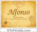 Origen y significado de Alfonso