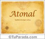 Origen y significado de Atonal