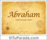 Origen y significado de Abraham