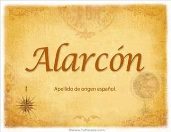 Origen y significado de Alarcón