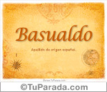 Origen y significado de Basualdo