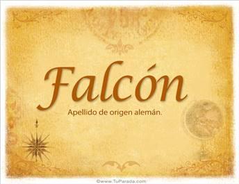 Origen y significado de Falcón
