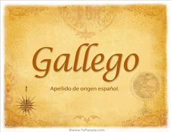 Origen y significado de Gallego