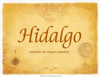 Origen y significado de Hidalgo