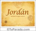 Origen y significado de Jordán